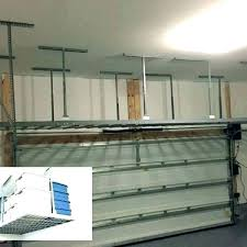 hanging garage storage ideas ceiling mounted shelves hanging garage storage ideas ceiling mounted shelves