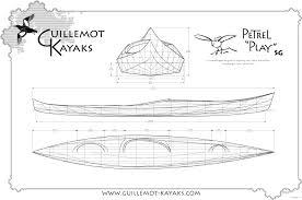 petrel play sg stitch and glue recreational kayak plans