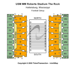 M M Roberts Stadium Tickets In Hattiesburg Mississippi