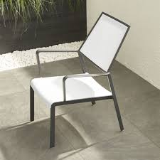 white metal outdoor furniture. Perfect Outdoor Largo White Mesh Lounge Chair For Metal Outdoor Furniture T