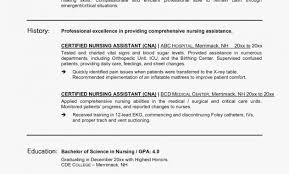 Nursing Assistant Resume Objective Examples Jose Mulinohouse