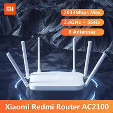 <b>Original Xiaomi Redmi AC2100</b> Router Gigabit 2.4G 5.0GHz Dual ...