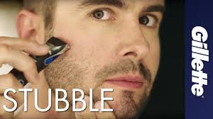 How To Cut Designer Stubble Beard Trimming How To Maintain Scruff And Stubble Gillette Styler