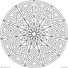With these coloring pages, your kid can play with a lot of different colors and shades while carefully dealing with intricate edges and other details. Printable Geometric Coloring Pages Free Coloring Sheets Geometric Patterns Coloring Geometric Coloring Pages Pattern Coloring Pages