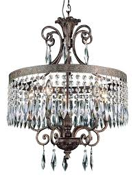 chandeliers white drum shade chandelier with crystals antique bronze chandelier 43456 crystal drum shade five