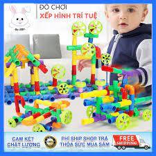 Báo giá Đồ chơi xếp hình, lắp ráp ống nước 48 chi tiết, kích thích tư duy,  tăng khả năng sáng tạo cho bé. chỉ 83.000₫