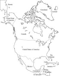 Cozy Design North America Map To Color American Continent Coloring