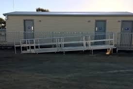 collaboration with bendigo scaffolding access ramp