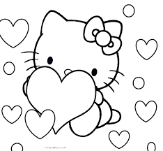 Free Hello Kitty Coloring Pages To Print Hello Coloring Pages Free