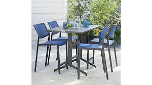 crate and barrel outdoor furniture. Largo Fliptop High Dining Table - Crate And Barrel Outdoor Furniture
