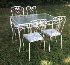 outdoor table wrought iron green rod iron patio furniture wrought iron outdoor furniture vintage outdoor