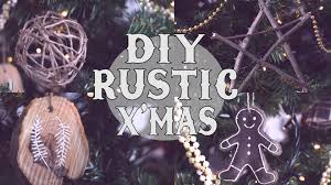 Rustic Christmas Ornaments Diy Rustic Christmas Tree Ornaments Youtube