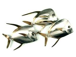 stainless steel fish wall art wall steel fish wall art metal fish wall art living colorful