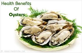 nutritional information of oysters