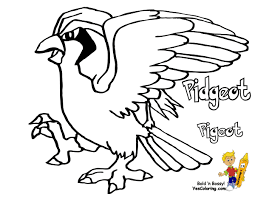 Pidgeotto coloring pages free coloring for kids 2018 pidgeotto coloring pages to print 8 t mega