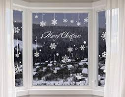 Amazonde Heekpek Schneeflocke Aufkleber Winter Weihnachts