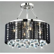 chandeliers with black shades for well known bryony chrome light chandelier chandeliers lights and living part