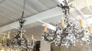 elegant chandelier ballroom houston and crystal chandeliers pair french iron 15 crystal chandelier ballroom houston