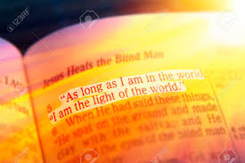 I Am The Light As Long As I Am In The World I Am The Light Of The World Bible
