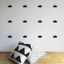 crown decal kids wall stickers