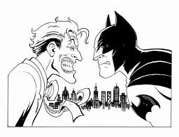 Free Printable Coloring Batman And Joker Coloring Pages 38 For ...