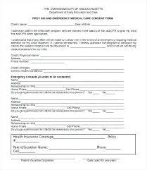 Medical Release Form For Grandparents Statement Of Consent Unique Caregiver Form Templates Fresh Medical