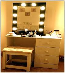 makeup vanity with lights for luxury dressing table mirror with best of vanity dressing table