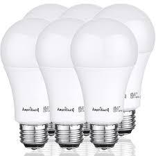 100 Watt Equivalent A19 Led Light Bulb Ameriluck 100w Equivalent A19 Led Light Bulbs 15watts Non Dimmable 5000k Daylight 6 Pack
