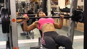 Smith Machine Incline Bench Press  Chest Exercise  YouTubeSmith Bench Press Bar Weight