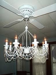 lighting wonderful crystal chandelier ceiling fan 7 light kit hang from fans harbor breeze crystal