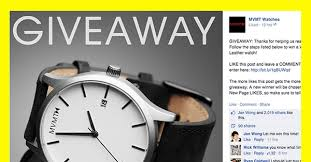 9 facebook giveaway ideas that won t