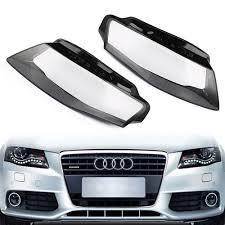 Audi A4 Front Lights Car Truck Parts Glue 2pcs For Audi A4 B8 09 12 Headlights
