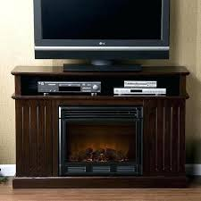 media consoles with electric fireplace white console package
