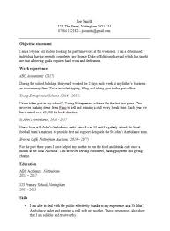 Personal Statement On Resume Gorgeous CV Template For A 44 44 Or 44 Year Old Free Download In MS Word