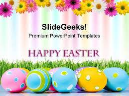 Happy Easter Festival Powerpoint Templates And Powerpoint