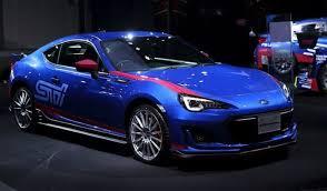 2018 Subaru BRZ, BRZ STI, TS, 50th Anniversary
