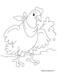Small Picture Little Red Hen Coloring Page Letter H Pinterest Little Red in