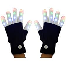 Light Up Gloves Amazon Amazon Com Weichuangxin Led Gloves For Kids 3 Colors Each