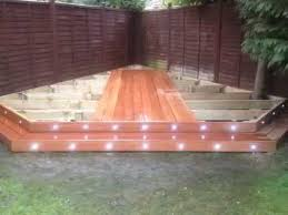 decking lighting ideas. Hardwood Decking Being Fitted With Deck Lights By Fedeck Fencing And - YouTube Lighting Ideas T