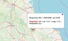 Terremoto nelle Marche oggi, martedì 14 gennaio 2020: scossa ...