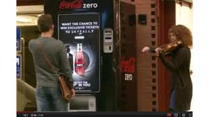 Coca Cola Touch Screen Vending Machine New CocaCola Promotes Coke Zero With Touchscreen Vending Machine And