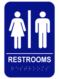 restroom signs. Beautiful Restroom ADA Braille Unisex Restroom Sign  With Signs O