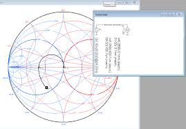Smith Chart Simulation Software Rf How To Reproduce A Matching Network Of A Vendor