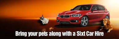 Car Hire with Pets Sixt Rent a car