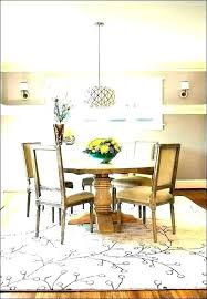 round dining table rug rug size for round dining room table rug under round dining table