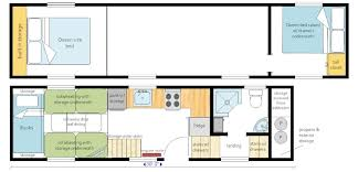 Our Layouts   MitchCraft Tiny Homes      GOOSENECK trailer  designed for a large   person family  Master