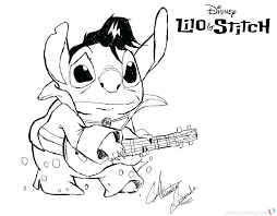 Lilo And Stitch Coloring Pages Color Betterfor