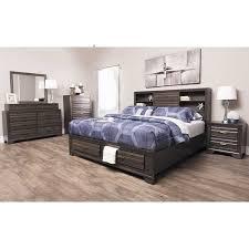 Antique Grey 5 Piece Bedroom Set 5236 5PCSET 5236 QBED020030