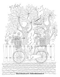 Robertsillustrations Kleurplaat 1 Kleuren Voor Volwassenen
