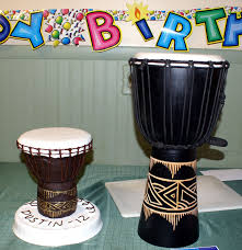 African Drum Designs Jembe Cake For My Nephew Tried To Make It Look Like His
